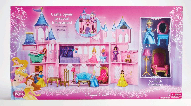 Amazon Com Disney Princess Royal Castle Toys Games Disney