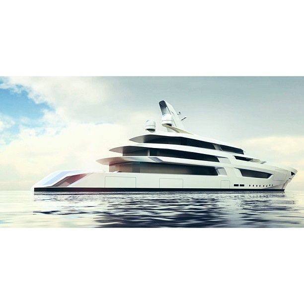 A first of collaborations with Oceanco and Bannenberg Rowell in creating a striking profile based on their 100m platform. I would love to collaborate with B&R on future designs. Not only are they passionate about yachts but also aviation, interiors, or building design.