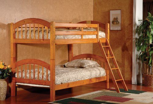 Kings Brand Furniture B125H Wood Arched Design Convertible