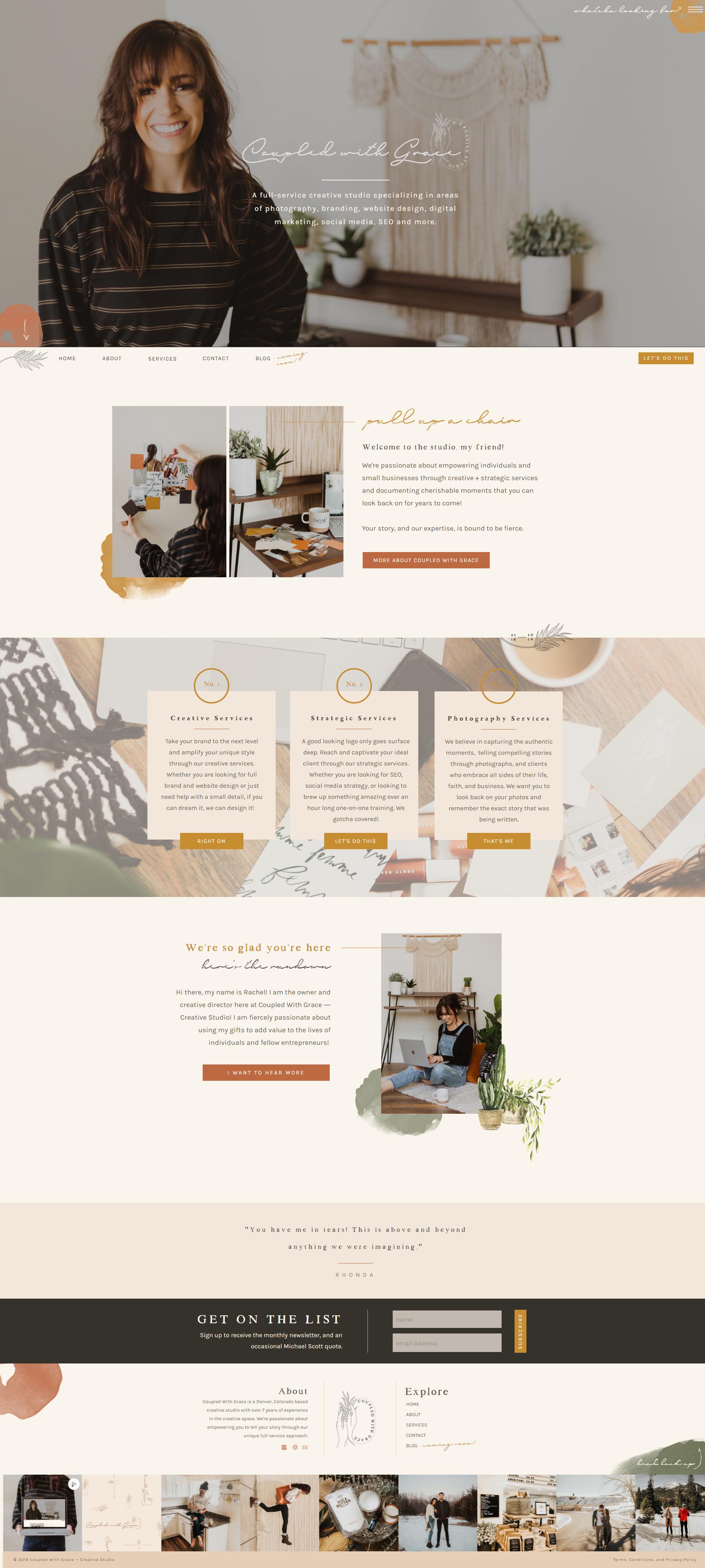 Coupled With Grace Website Design Website Layout Showit Website Mockup Website Layout Inspiration Beautiful Website Design Feminine Website Design
