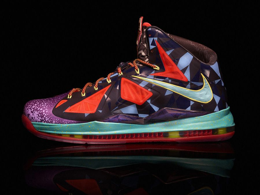 Nike LeBron X - MVP - UNKNWN Miami Release Details | Sole Collector. If I