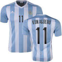 Argentina home soccer jersey new 2016-17 Messy, Maradona, Rojo, Mascherano, Di Maria, La Vezzi, Higuain, Aguero