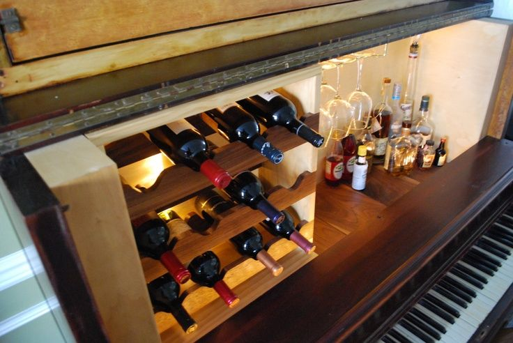Fun Piano Bar. $3,000.00, via Etsy. | Bars | Pinterest