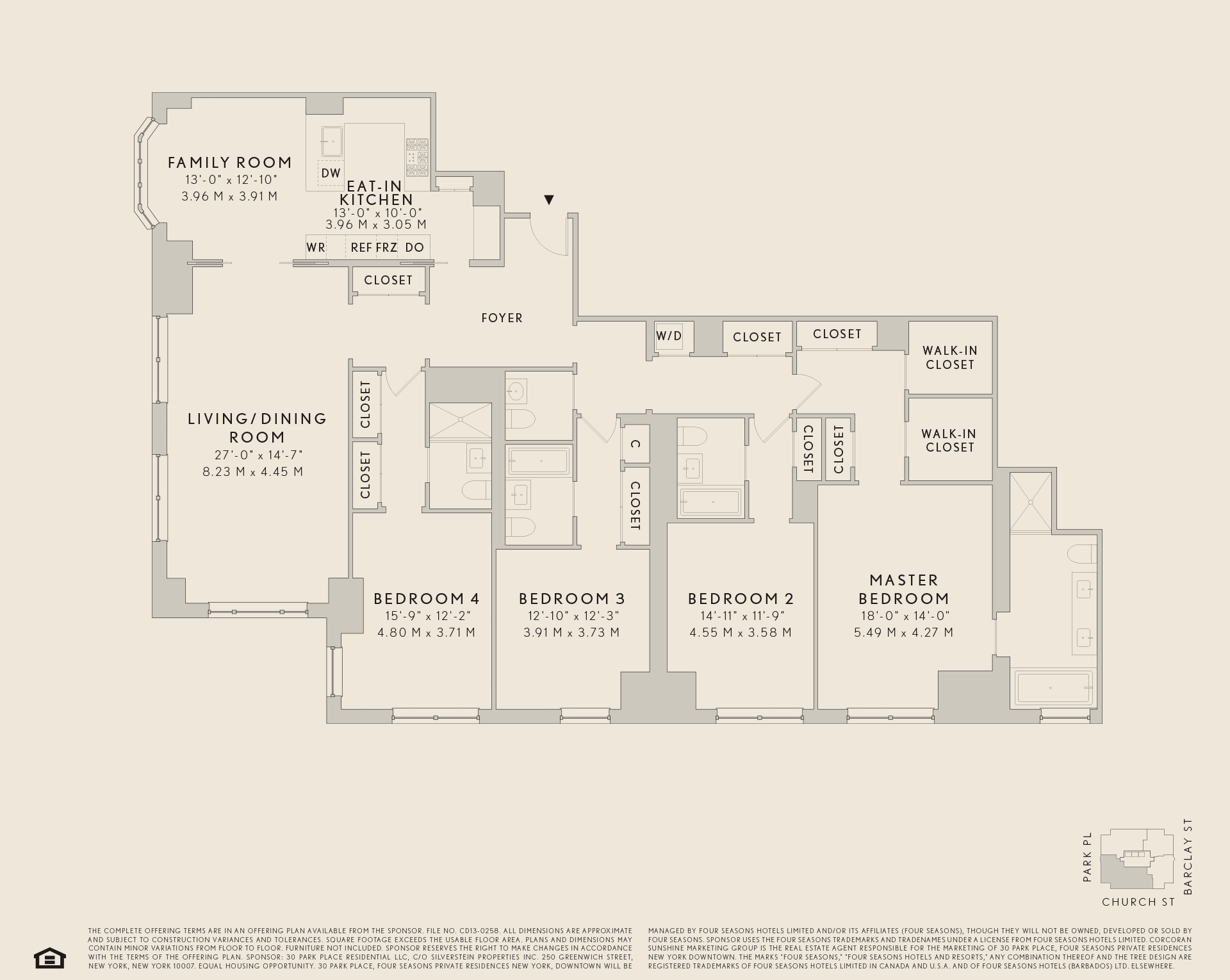 30 Park Ave Hotel Services Floor Plans Residences