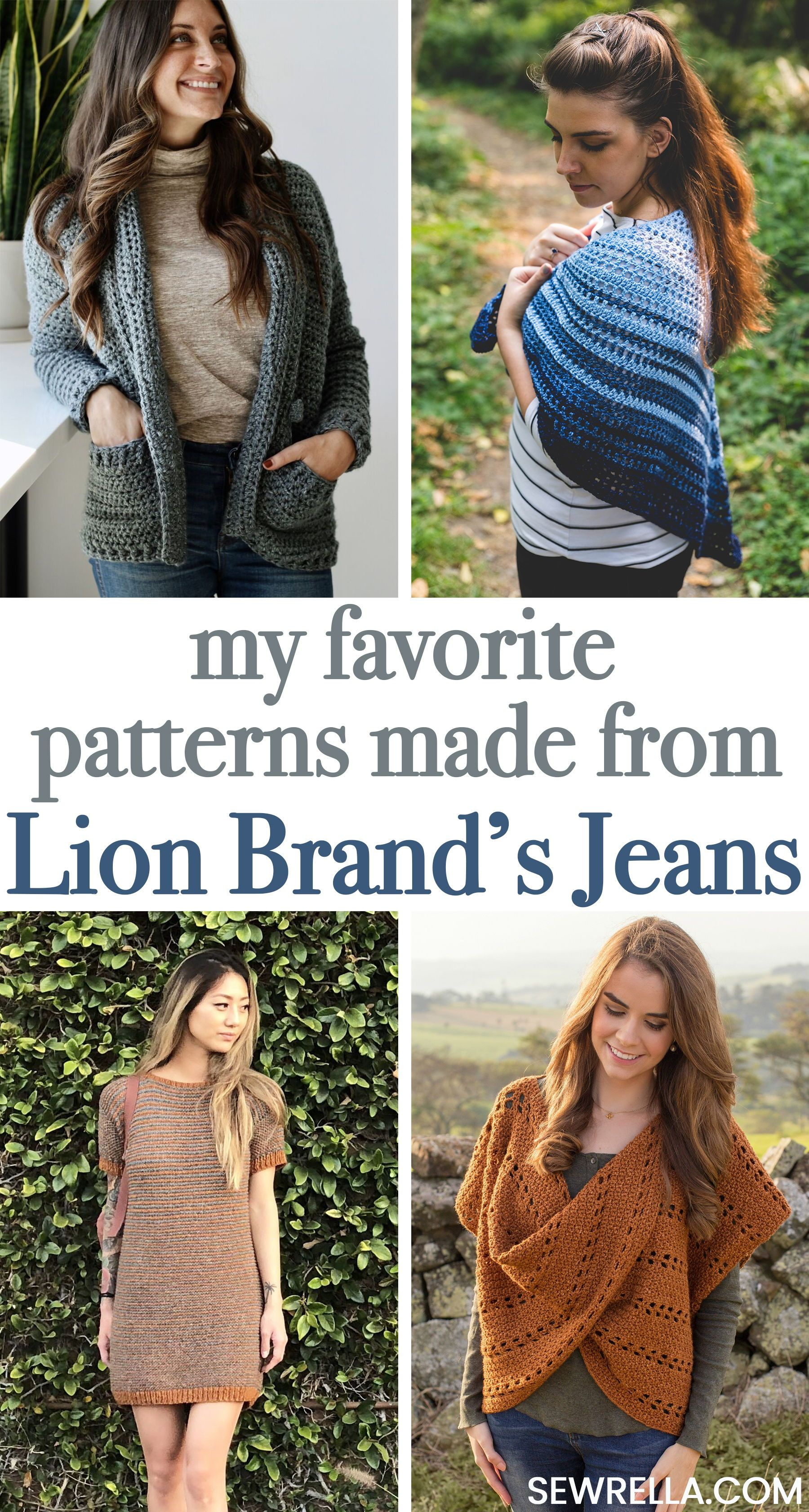 The Best Crochet Knit Patterns Made With Jeans Yarn Yarn Thread