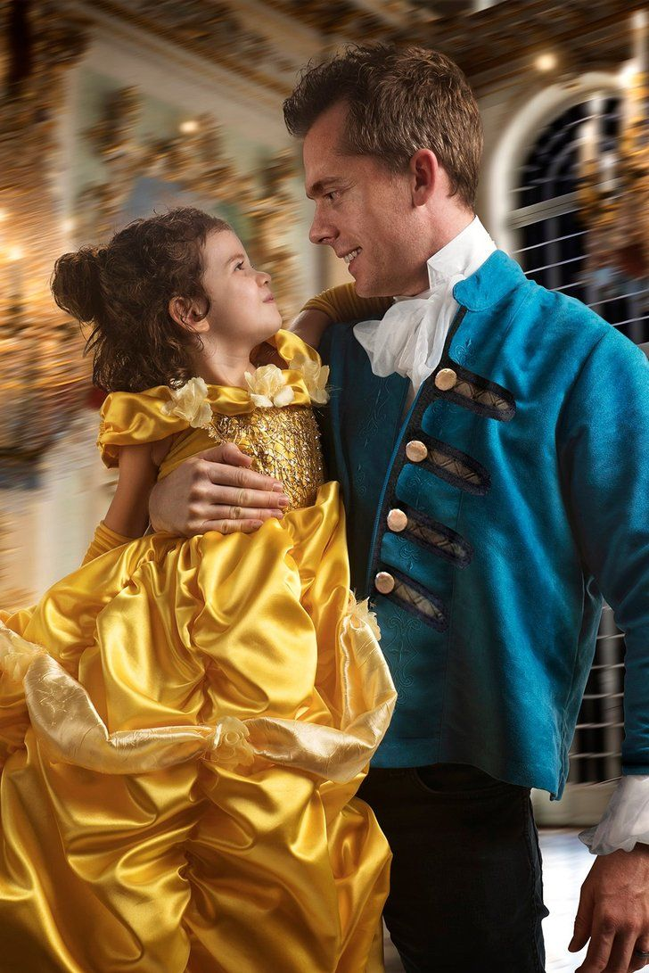 How 1 Dad Made His Girl S Disney Dreams Come True With An Epic