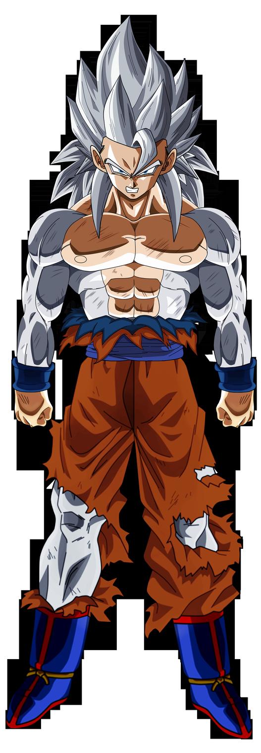 Goku Migate No Gokui Ssj4 Fullpower By Groxkof Super Sayajin Guerreiros Lendarios Dragoes