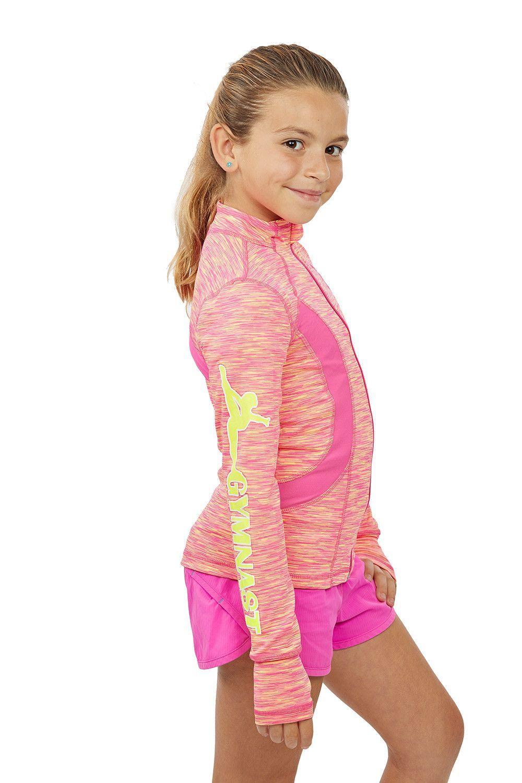 ed72d5971 Lizatards Space Dye GYMNAST Gymnastics Jacket