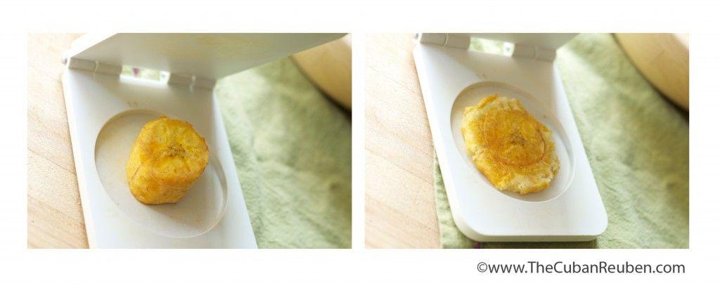 pressing tostones | TheCubanReuben.com
