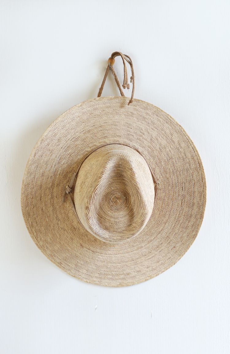 Vintage Mexican straw hat from Everything Golden  a37db39057a