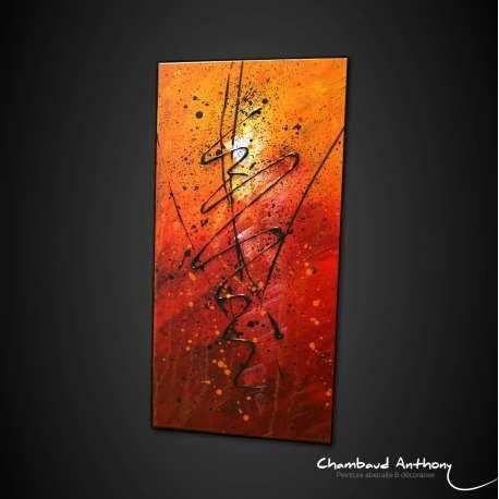 tableau rouge de l 39 artiste anthony chambaud artiste peintre contemporain fran ais http www. Black Bedroom Furniture Sets. Home Design Ideas
