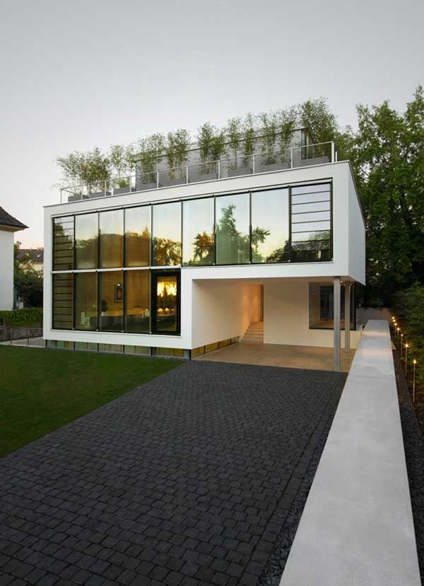 Beautiful fourstorey modern villa in Germany Villas House and