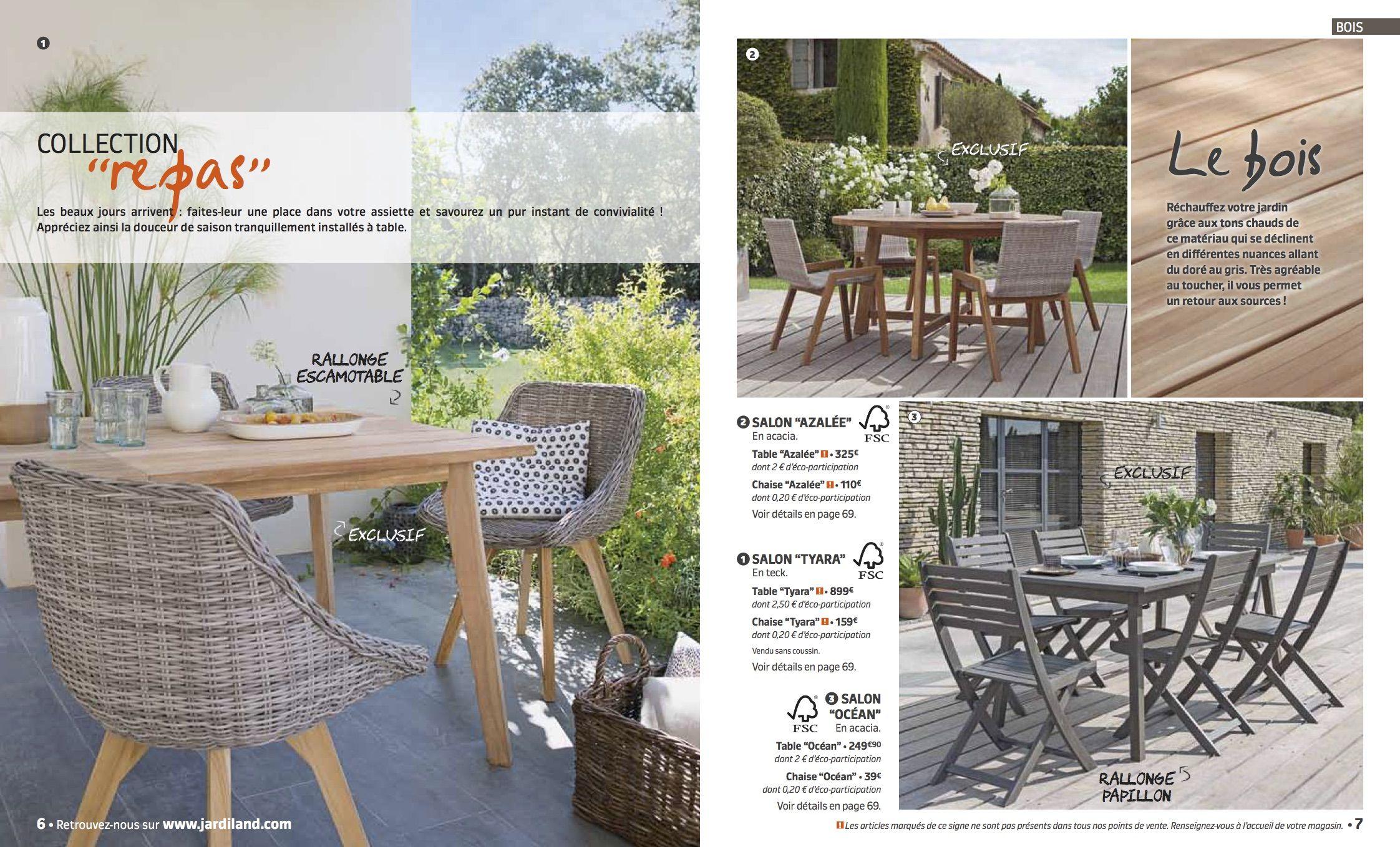 Epingle Par La Chose Sur Jardiland Catalogue Mobilier Jardin