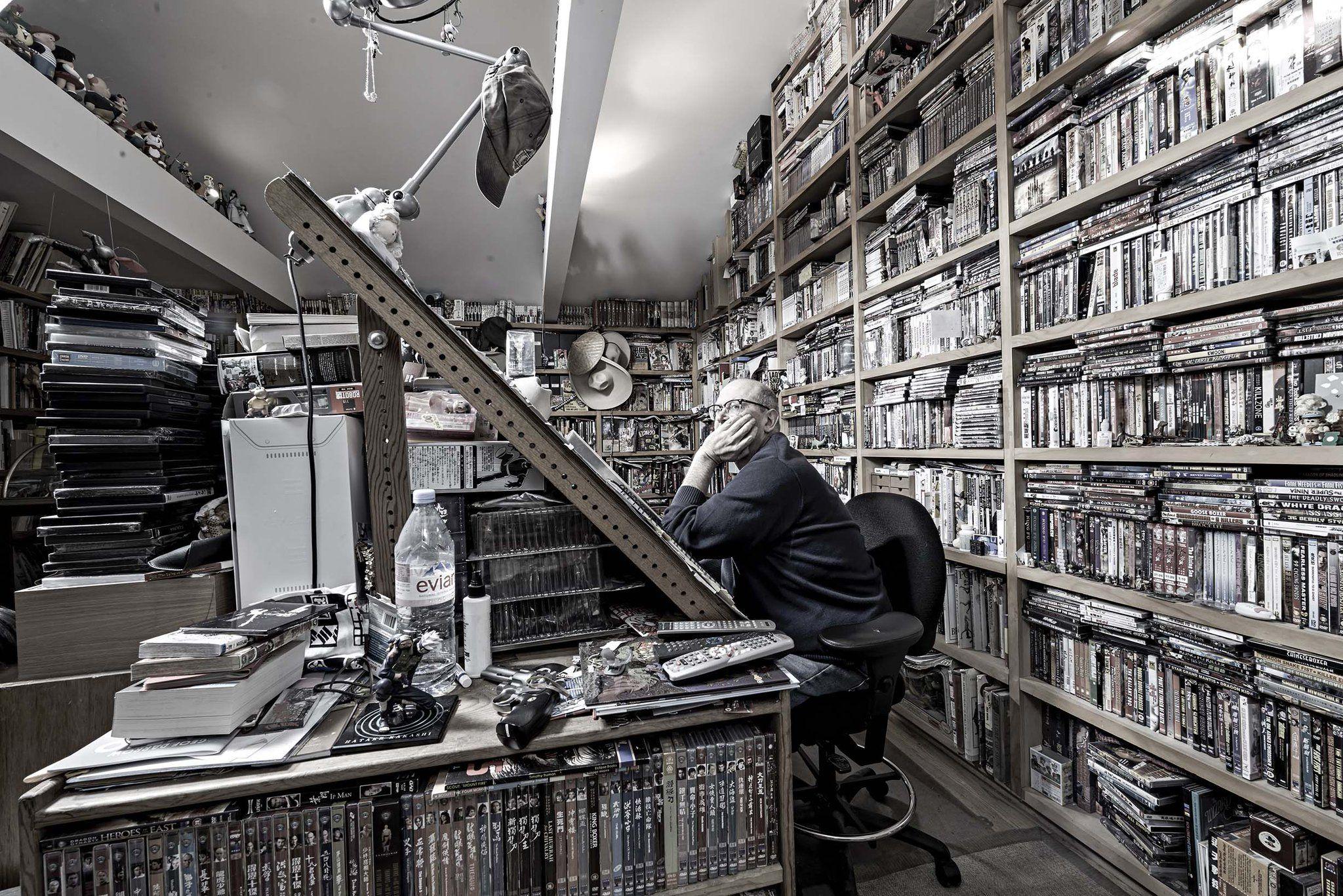 Cartoonist Pics on Geof darrow, Artist workspace, Studio