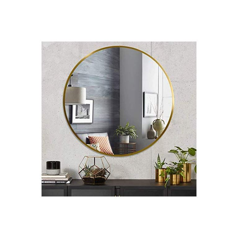 Por 24 Inch Round Wall Mounted