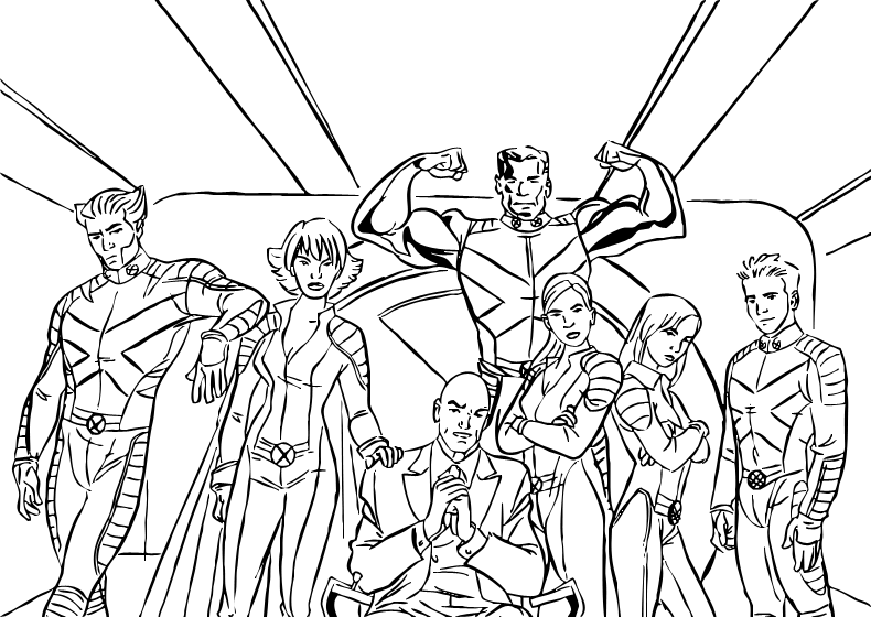 Are You Looking For X Men Coloring Pages Hellokids Has Selected This Lovely Heroes At Mutant Scho Superhero Coloring Pages Super Coloring Pages Coloring Pages
