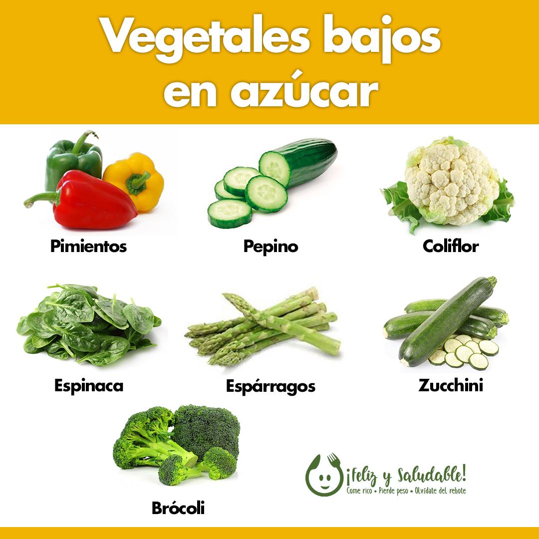 Vegetales Bajos En Azúcar Frutas Y Verduras Beneficios Artesanías Con Alimentos Vida Sana Y Saludable