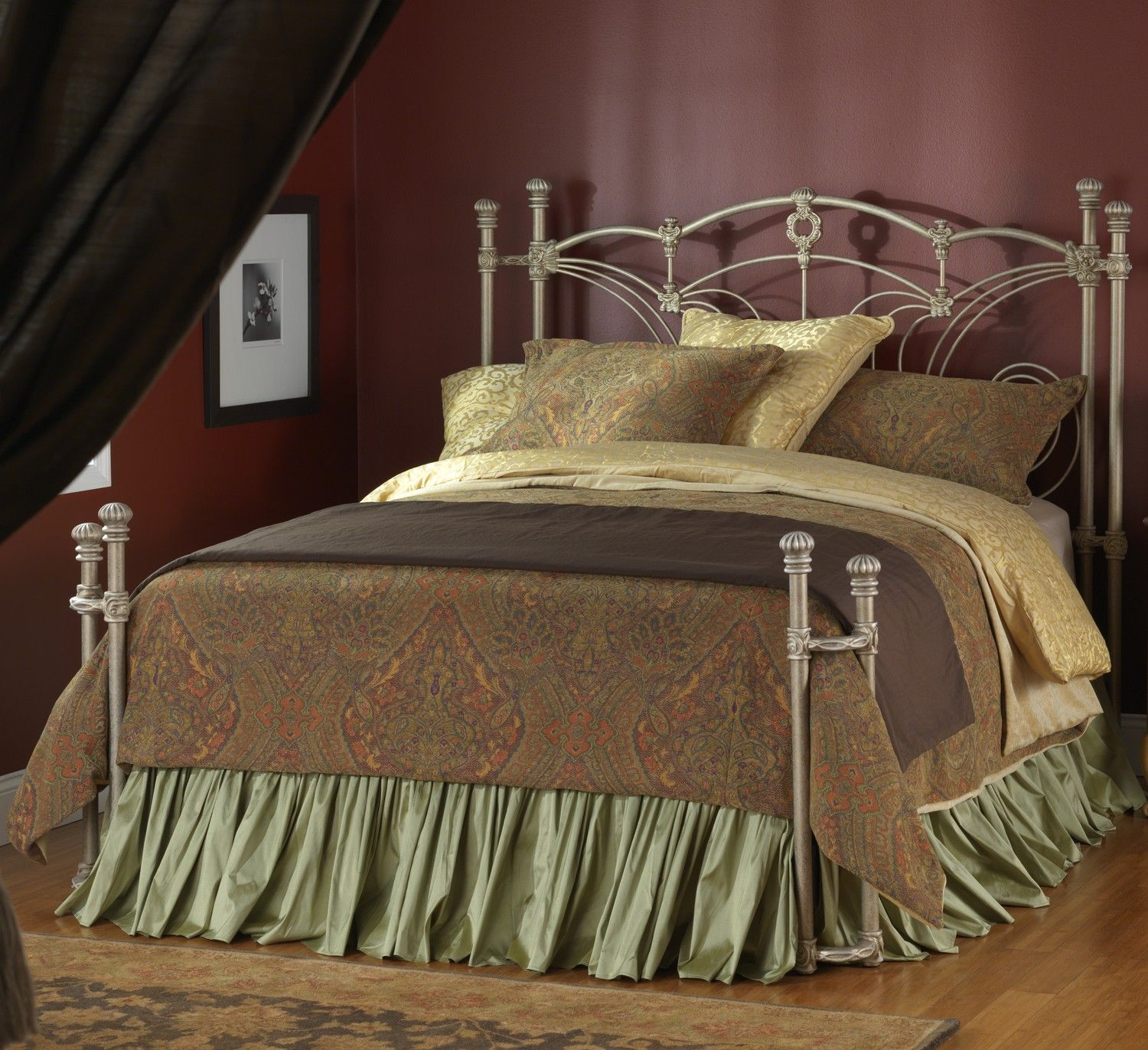 beds antique set headboard king wesley of with allen metal reviews wrought fine frame twin iron medium clearance size bed