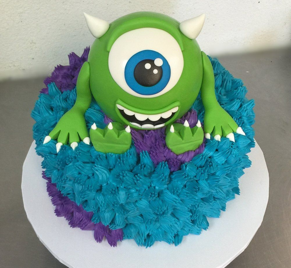 Astonishing Sully Mosters Inc Cake In 2020 Cake Sculpted Cakes Monster Personalised Birthday Cards Epsylily Jamesorg