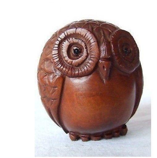 China Rare Old Handwork Boxwood Carving Lovel Dog Netsuke