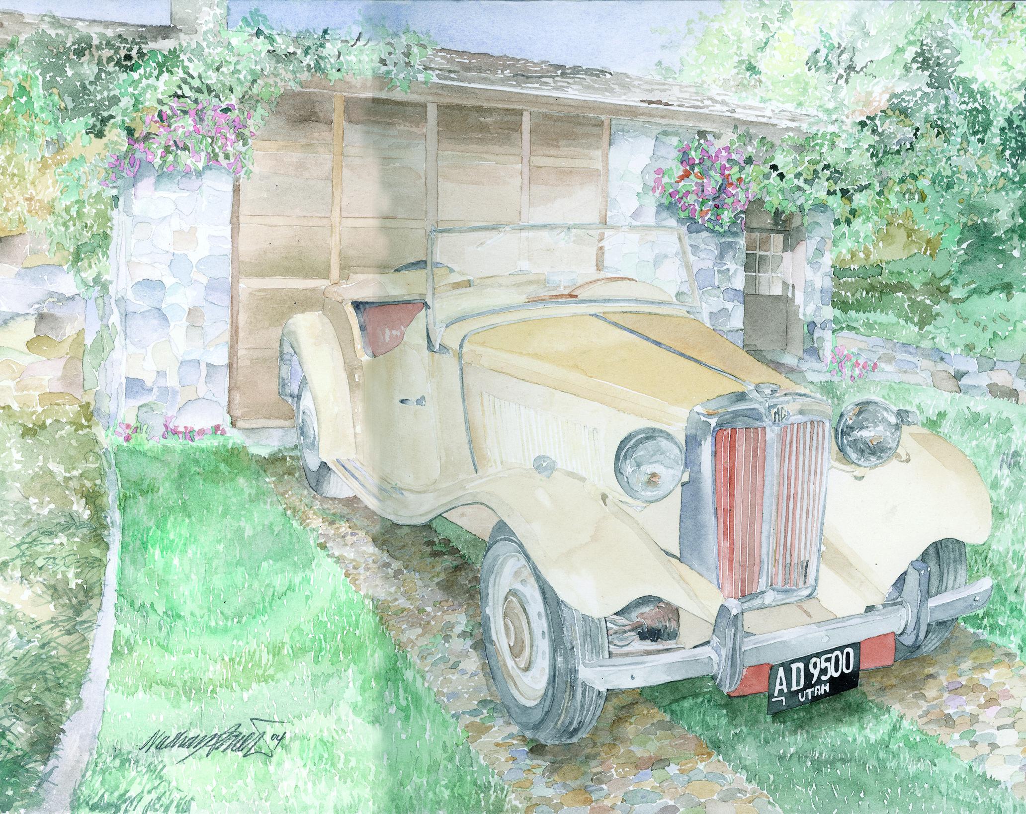 MG Car Rory