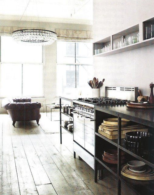 for your inspiration 11 stylish industrial kitchens editor s rh pinterest com