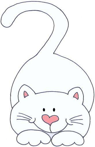 Pin de funda belginer en animals pinterest gato molde - Plantillas para pintar camisetas ...