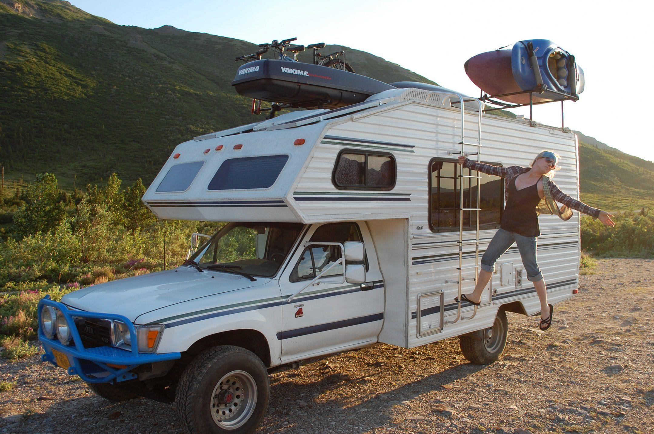 Retro Mobile Homes Toyota Odyssey Rv 4x4 Truck Campers Pinterest 4x4 Toyota
