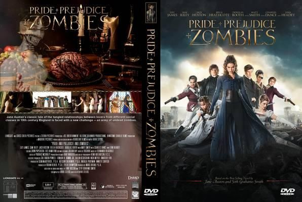Pride And Prejudice And Zombies 2016 Dvd Front Cover Pride And Prejudice And Zombies Pride And Prejudice Prejudice