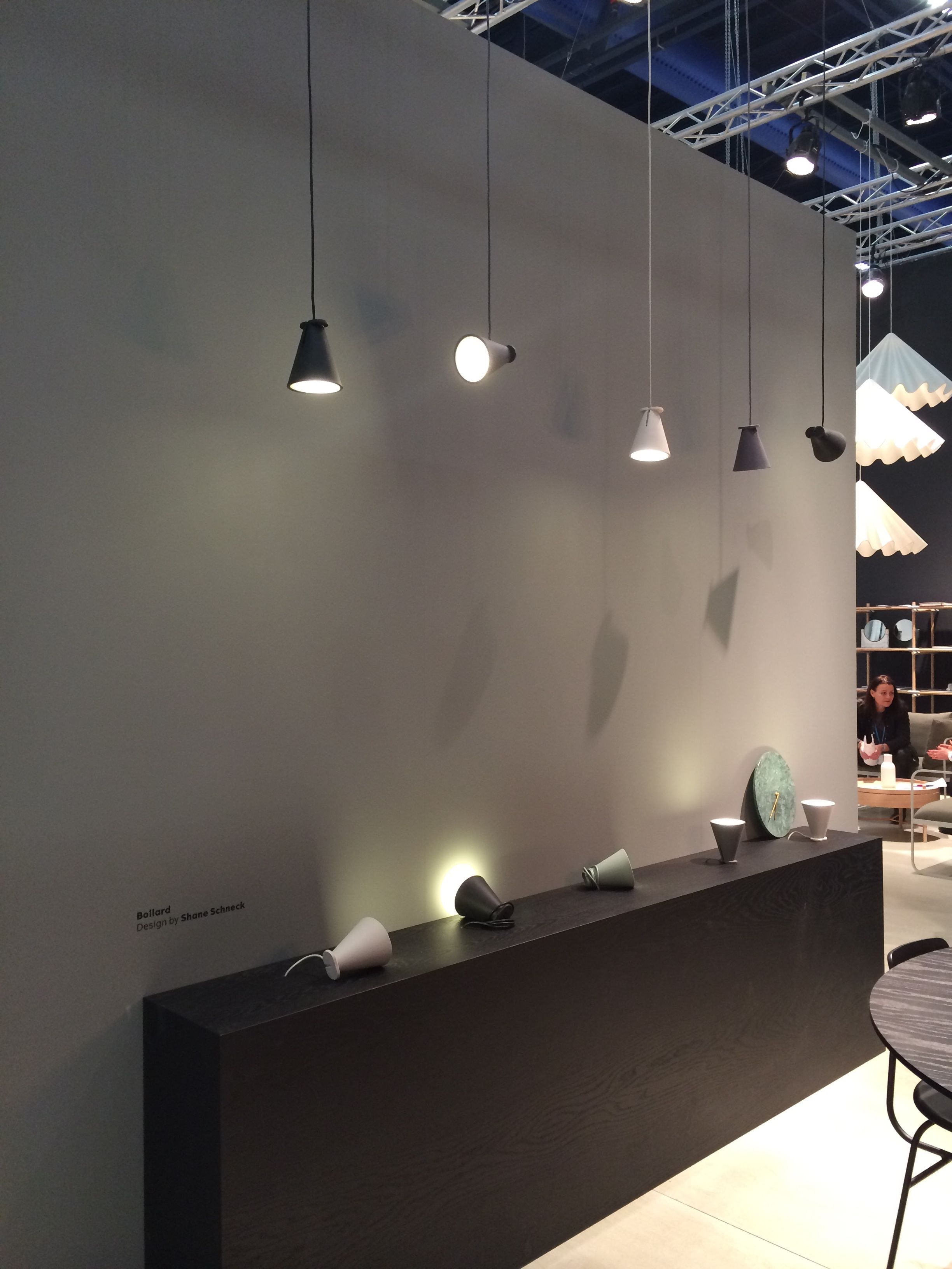 Menu Bollard Lamp At Stockholm Furniture Fair 2015