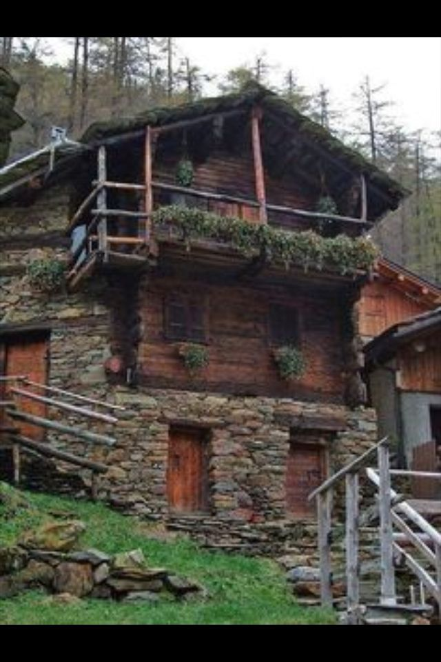 Casa muy rstica  design  Alpine chalet Home Log homes