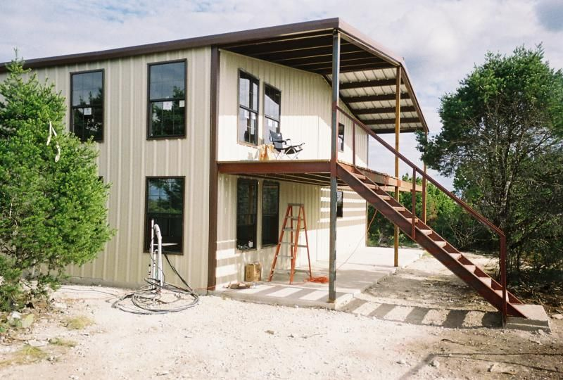 Metal buildings with living quarters 40 39 x60 39 x16 39 shop Steel building with living quarters