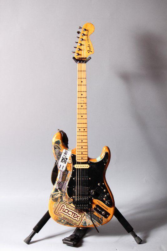 Steve Vais Fender Strat Natural Finish Wfloyd Rose Custom