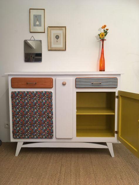Le buffet mado an mone relooking de meubles meuble - Relooker ses meubles de cuisine ...