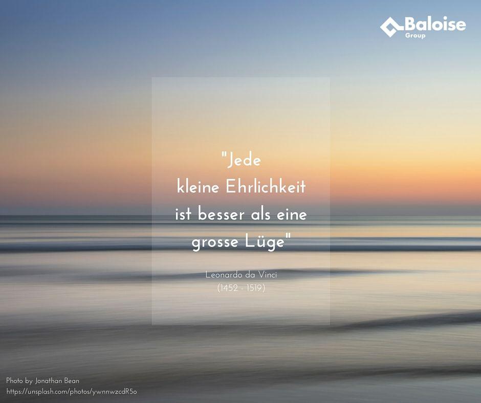Ehrlich und authentisch gewinnt! Wir wünschen euch einen guten Start in die Woche -  Auf unserem Baloise Jobs Blog findet ihr viele Tipps zum Thema: Authentizität im Berufsleben http://baloisejobs.com/tipps-tricks #Karriere #Job #Baloise #Zitat