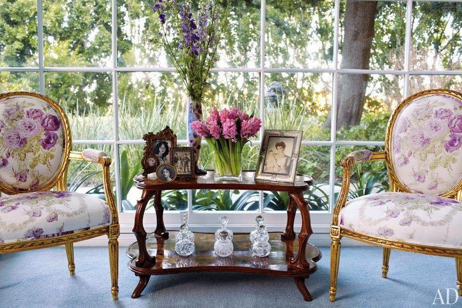 Celebrity Homes: Elizabeth Taylor /Bel Air/