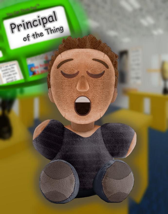 Sanshee Principal Of The Thing Plush By Sarahdefroggo225 Crafty Plushies Kid Picks