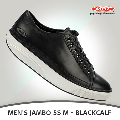 8307e13c0e41 Kick off your day with the new MBT Men s Jambo 5S M Blackcalf if you take  looking casual seriously. A mixture of canvas and full grain leather uppers  ...