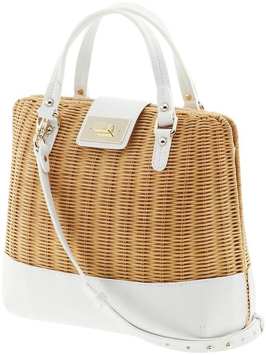 c98db60cfc Basket bag by Kate Spade | Accessories | Bags, Kate spade, Straw tote