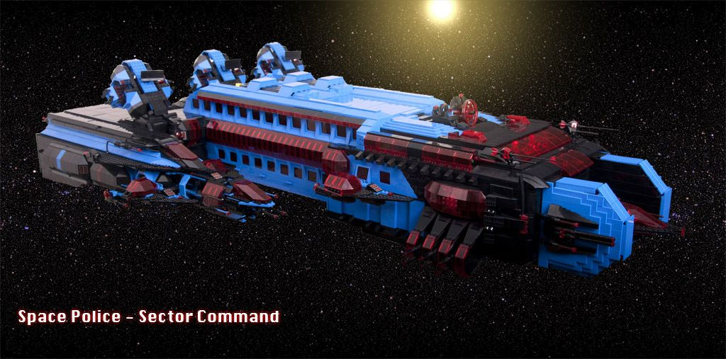 Space police 1 - Sector command by Gahrian on EB