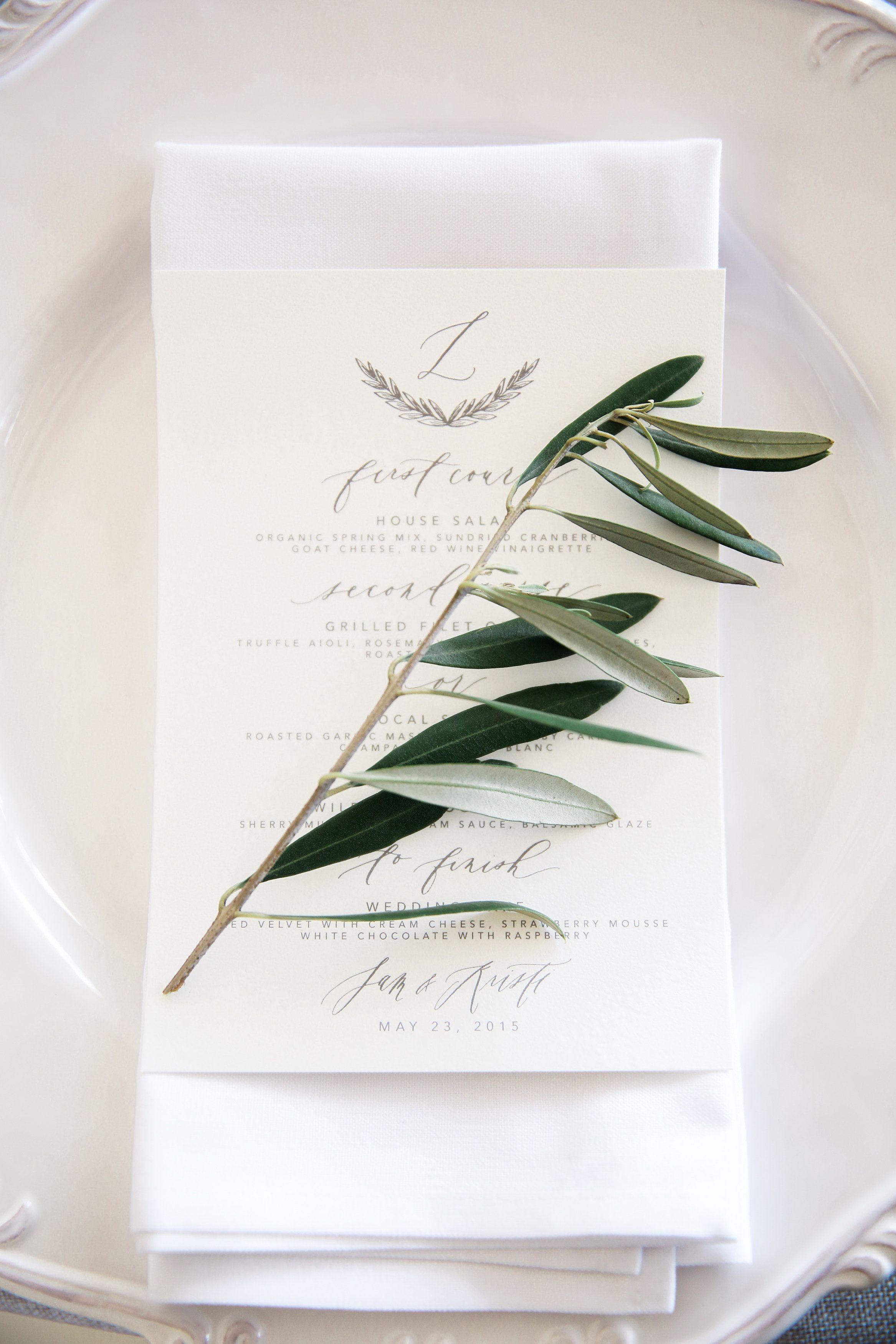 Pretty Gray and Neutral Invitations / San Diego Wedding | Written ...