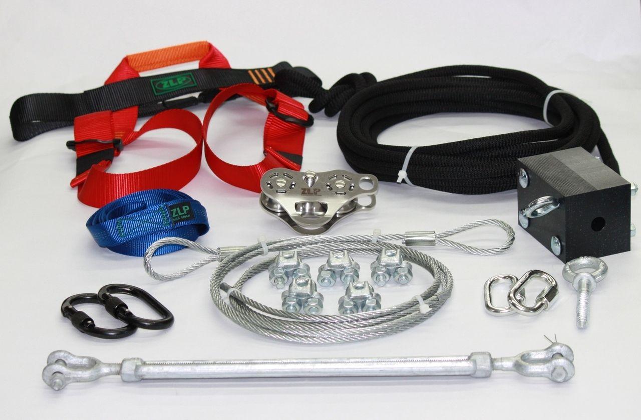 ultimate torpedo harness zip line kit