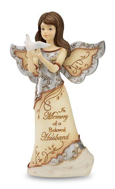 Xpressions Ceramic Guardian Angel Figurines