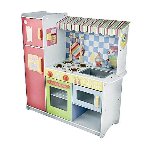 Cozinha de madeira tudo em um just like home toys r us - Cocinitas de madera infantiles baratas ...