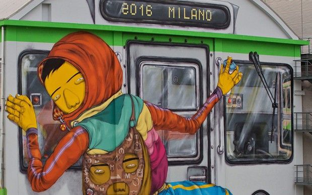 L'HangarBicocca e la street art degli Os Gêmeos