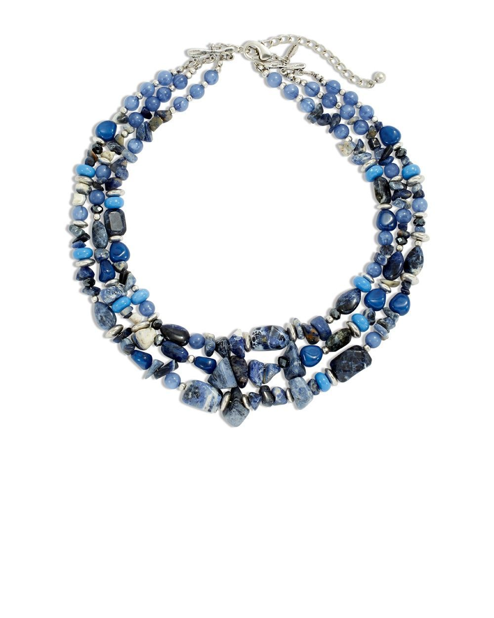 Chico's Women's Zolla Blue Layered Necklace