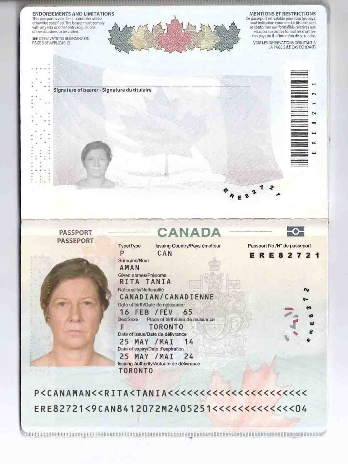 Pin By B Tin On Visa Passport Online Canadian Passport Visa Online