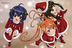 Resultado de imagem para animes especial de natal 2015 roupas