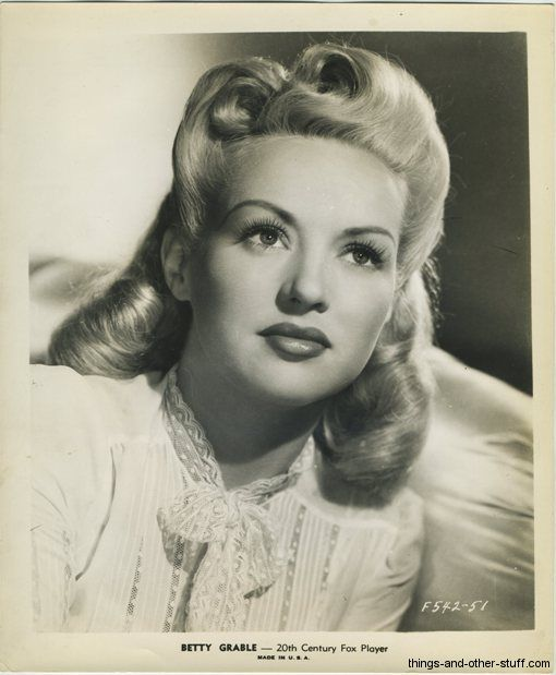 Gallery Of 1940's 20th Century Fox Movie Stars Promotional