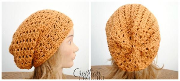 The Trinity Slouch A Free Slouchy Hat Pattern Free Crochet Free